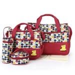 Geanta pentru mamici Mama Bag Emilia Red