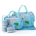 Geanta pentru mamici Mama Bag Natura Blue