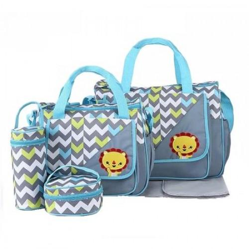 Geanta pentru mamici Mama Bag Natura Grey
