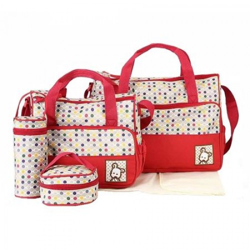 Geanta pentru mamici Mama Bag Simone Red