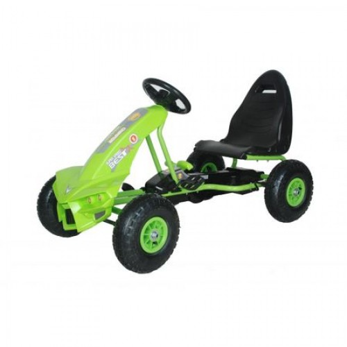Kart cu pedale Go Kart The Best Green