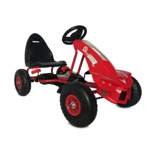 Kart cu pedale Go Kart The Best Red