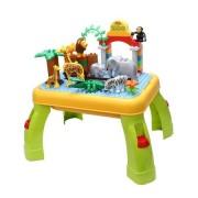 Masuta educativa tip Lego Zoo Bebeking