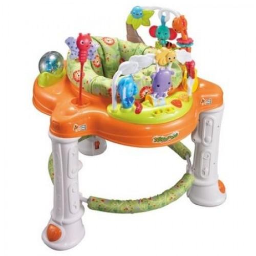 Premergator cu scaun rotativ Gioca Portocaliu