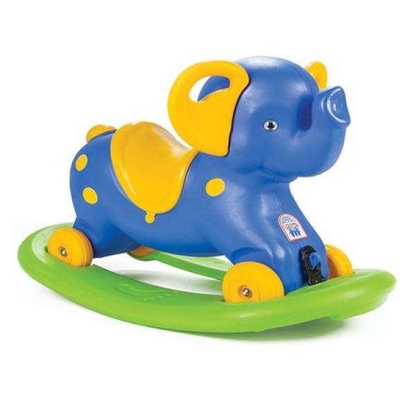 Balansoar copii Micul Elefant Albastru