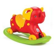 Balansoar copii Micul Elefant Rosu