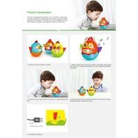 Jucarie interactiva pentru copii Gossip Bird