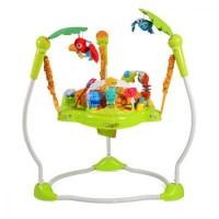 Saritor pentru copii Jumper Jungle Verde
