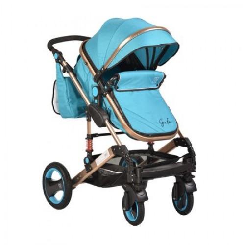 Carucior pentru copii 2In1 Gala Turquoise