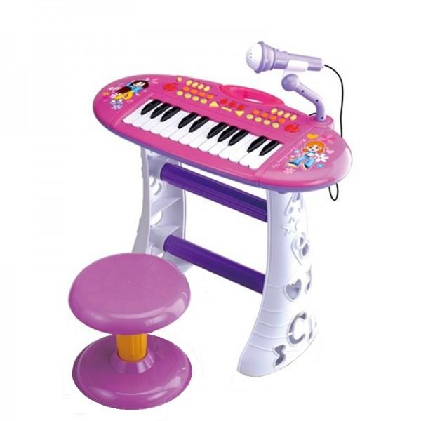 Set pian cu scaunel Little  Queen