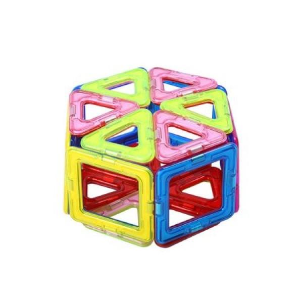 Joc de constructie magnetic - 56 piese