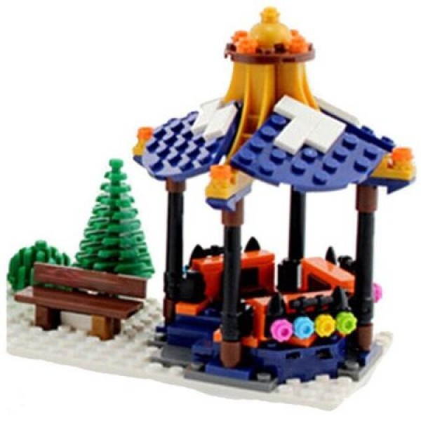 Joc de construit 860 piese Bebeking City Building Blocks