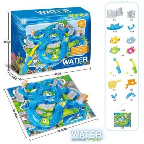 Pista cu apa si pestisori Water Fun