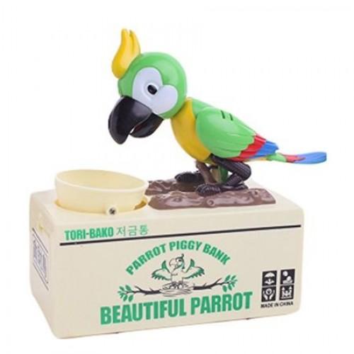 Pusculita Papagalul haios Green