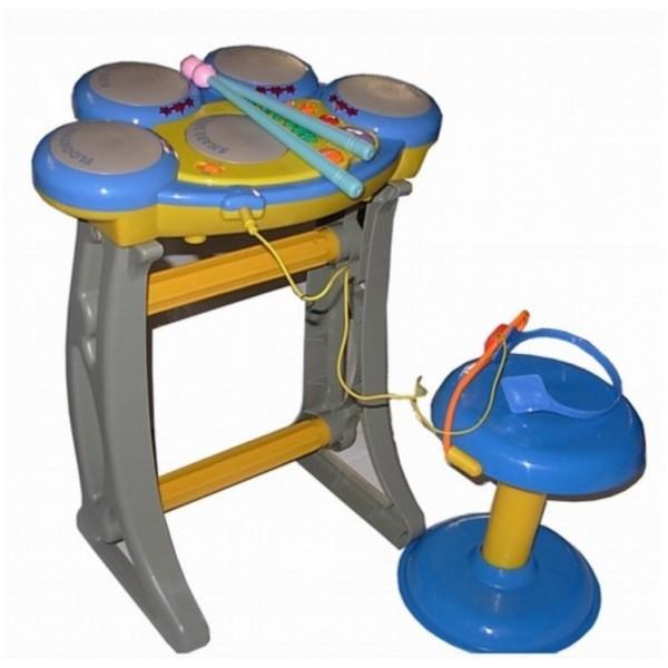Set Tobe Rock'n Roll cu scaunel Bebeking