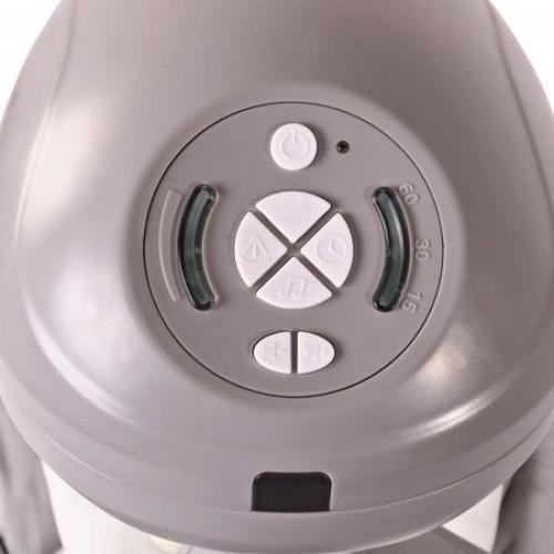 Leagan electric cu telecomanda si conectare la priza Woodsy Beige