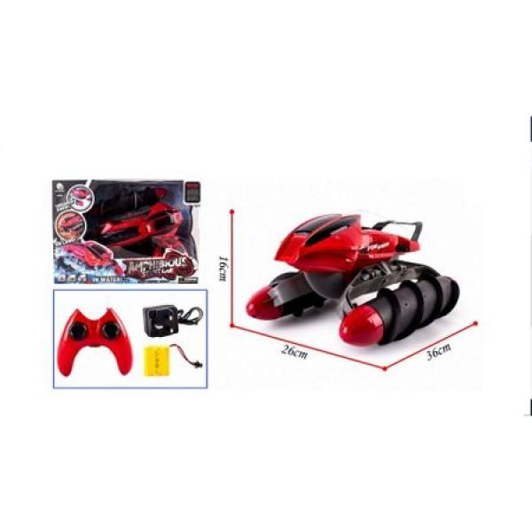Masinuta cu telecomanda Amfibie Red