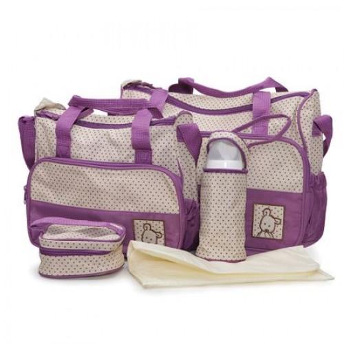 Set genti pentru carucior copii Stella Purple