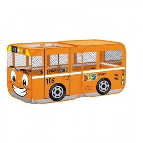 Cort joaca pentru copii Bus Orange