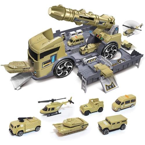 Set militar de jucarie si accesorii incluse