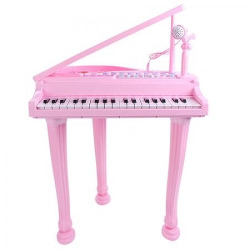 Set pian cu microfon si scaunel Micul Muzician
